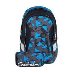 Рюкзак Satch Sleek Plus Blue Triangle