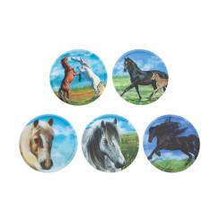 Набор Стикеров Ergobag Soccer Horses