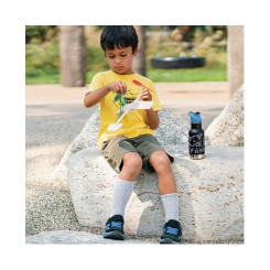 Детская термобутылка Klean Kanteen Insulated Kid Classic Sport, Brushed Stainless, 355 мл